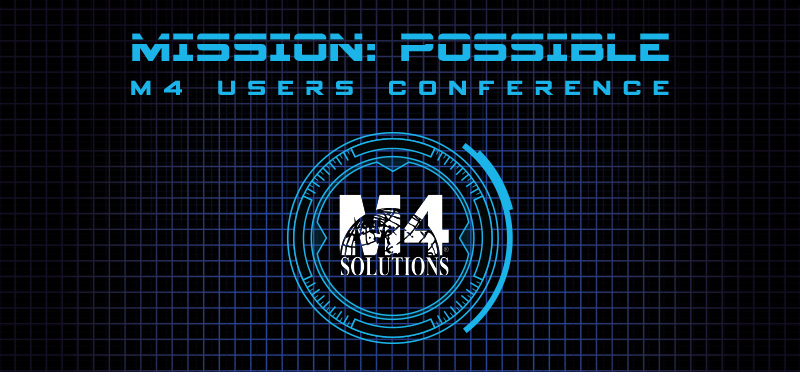 Schedule Your M4 Users Conference 1-on-1 Session
